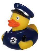 Badeend Politieman - Beroepen - 8,5 cm bij debadeend.nl