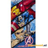 Strandlaken Iron Man, Hawkeye en Captain America bij debadeend.nl