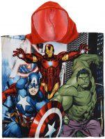 Badponcho Avengers - Hulk, Iron Man, Captain America bij debadeend.nl