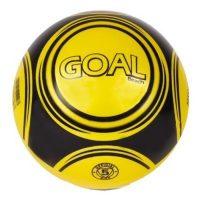 Voetbal Goal - 23 cm - Geel bij debadeend.nl
