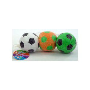 Zachtgevulde voetballetjes - 3 stuks - 10 cm