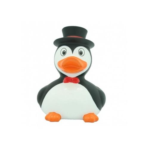 Badeend Pinguin - Dieren - 8,5 cm bij debadeend.nl