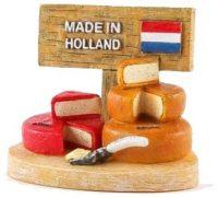 3D Magneet - Kaas Holland - Souvenir bij debadeend.nl