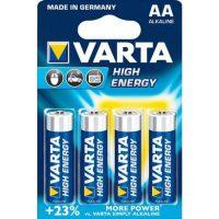 AA High Energy Batterij - 4 Stuks - 1.5 V bij debadeend.nl
