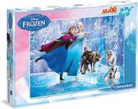 Frozen Puzzel - 100 stukjes bij debadeend.nl