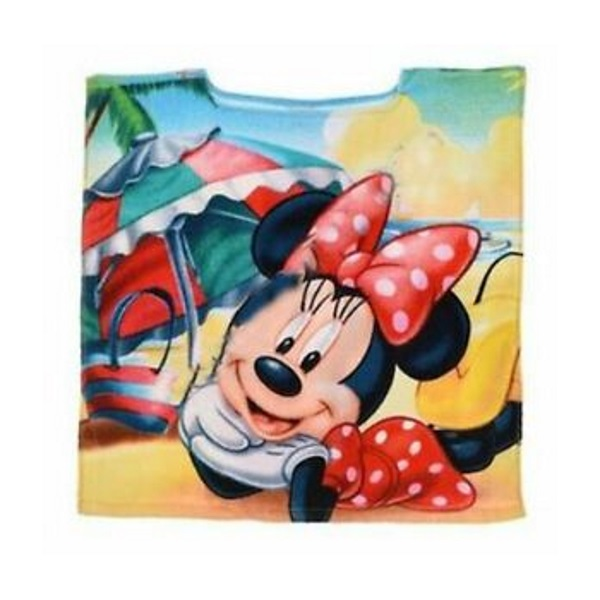 Badponcho Minnie Mouse – Zonder capuchon