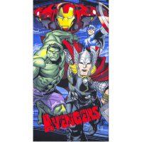 Strandlaken - Iron Man, Hulk, Thor & Captain America bij debadeend.nl