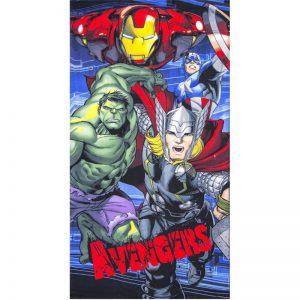 Strandlaken – Iron Man, Hulk, Thor & Captain America
