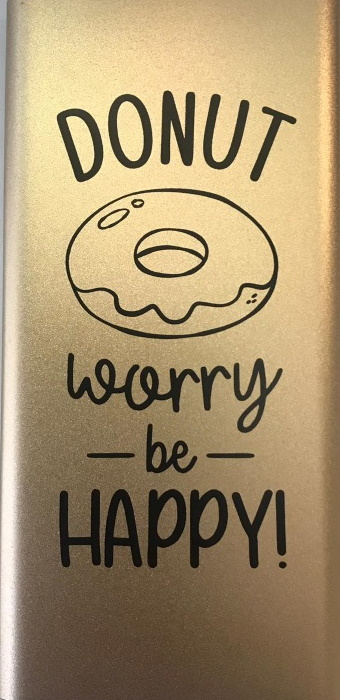 Powerbank – Donut worry be happy – 5.000 mAh