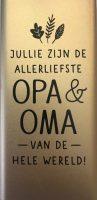 Powerbank - Jullie zijn de allerliefste Opa & Oma van de hele wereld - 5.000 mAh bij debadeend.nl
