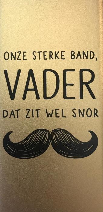 Powerbank - Onze sterke band, vader dat zit wel snor bij debadeend.nl