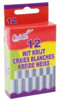 Krijtjes - Wit Bordkrijt - 12 stuks bij debadeend.nl