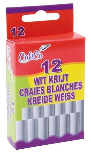 Bordkrijt - Wit - 60 stuks (5 x 12) bij debadeend.nl