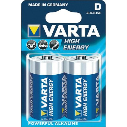 Varta D Batterij - 2 Stuks  - 1.5 V bij debadeend.nl