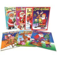 Kleur en Spelletjesboek - Kerst - 64 bladzijden bij debadeend.nl