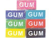 Gum Groot - 12 x 5 cm - Paars bij debadeend.nl