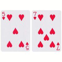 1 pakje Speelkaarten - Rood en/of Blauw bij debadeend.nl