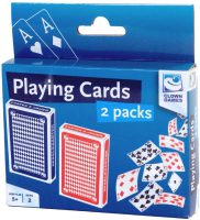 Speelkaarten - 2 pakjes bij debadeend.nl