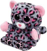 Peek A Boo Smartphonehouder - Roze luipaard bij debadeend.nl