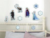 Frozen Muurstickers Foam - 10 stuks bij debadeend.nl