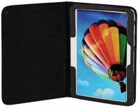 Tablethoes Portfolio Arezzo voor Samsung Galaxy Tab 3 7.0 - Zwart bij debadeend.nl