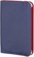 Tablethoes Portfolio Lissabon-X voor Samsung Galaxy Tab 3 7.0 - Blauw/Rood bij debadeend.nl