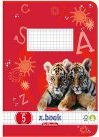 Schoolschrift - Geruit - Type 5 - 16 pagina's bij debadeend.nl