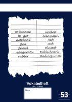 Vertaalschrift - Vokabelheft - 32 pagina's bij debadeend.nl