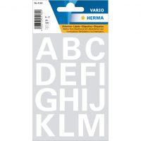 Letteretiketten - Wit - A t/m Z - 25 mm bij debadeend.nl