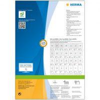 Premium Etiketten 105 x 37 200 vel DIN A4 3200 stuks 4620 bij debadeend.nl