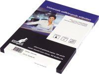 Universele adresetiketten - 100 vel a 16 stuks - 105 x 37 mm bij debadeend.nl