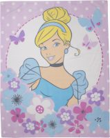 Disney Princess Dreams Fleecedeken – Assepoester – 120x150cm