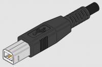 USB 2.0 Printerkabel - type A naar B - 1.8 meter bij debadeend.nl