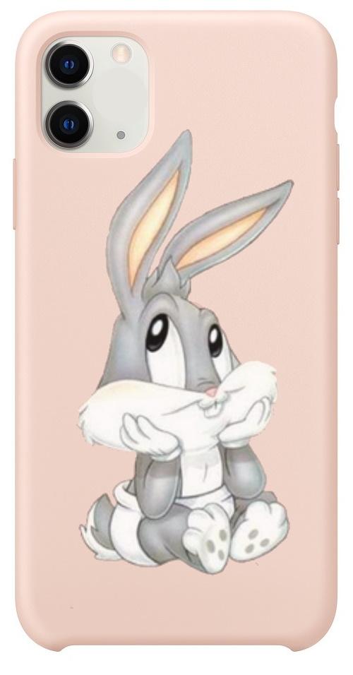 Telefoonhoesje voor iPhone 11 - Baby Bugs Bunny bij debadeend.nl