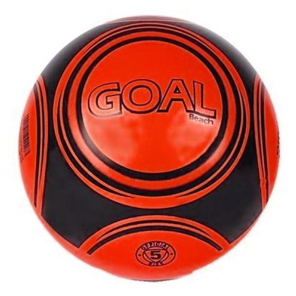 Voetbal Goal - 23 cm - Rood bij debadeend.nl