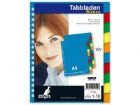 Tabbladen Gekleurd - A5 papier - 10 stuks - 17 gaats bij debadeend.nl