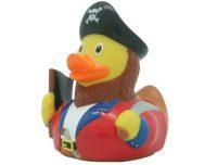 Badeend Kapitein Piraat - 8,5 cm bij debadeend.nl