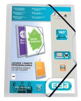 Personal Flap Folder - A4 papier - Transparant bij debadeend.nl