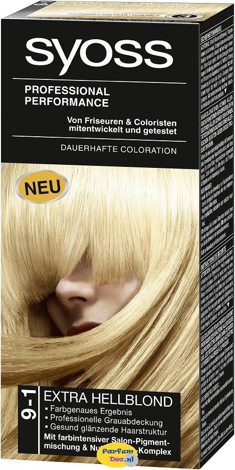 Syoss Haarverf 9-1 Extra Blond