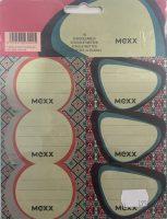 Schooletiketten Mexx Colors - 18 etiketten (3 vellen, 6 labels per vel) bij debadeend.nl