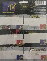 Schooletiketten MTV Sneakers - 18 etiketten (3 vellen, 6 labels per vel) bij debadeend.nl