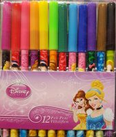 Disney Princess Kleurstiften - 12 st per verpakking bij debadeend.nl