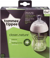 Closer to Nature Drinkfles 260 ml – Anti koliek – Twee stuks