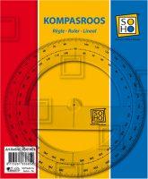 Kompasroos Gradenboog Transparant - 10 cm bij debadeend.nl