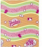 Rekbare Boekenkaft - New York Yankees - Roze bij debadeend.nl