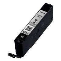 Inktcartridge CLI-571PGBK XL - Pigment Zwart - Hoge capaciteit bij debadeend.nl