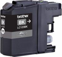 Inktcartridge LC-123BK - Zwart - Huismerk bij debadeend.nl