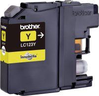 Inktcartridge LC-123Y - Geel - Huismerk bij debadeend.nl