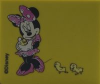 Mini Disney Gum - Roze Minnie Mouse - 4 x 3 cm bij debadeend.nl