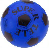 Plastic Voetbal - 23 cm - Blauw bij debadeend.nl